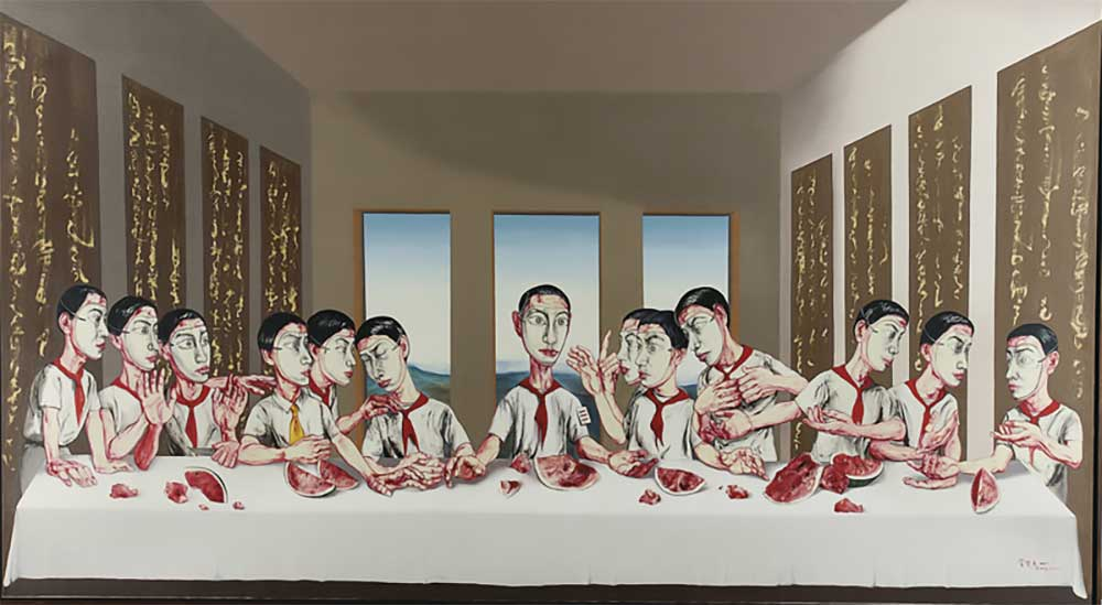 The Last Supper by Fanzhi Zeng