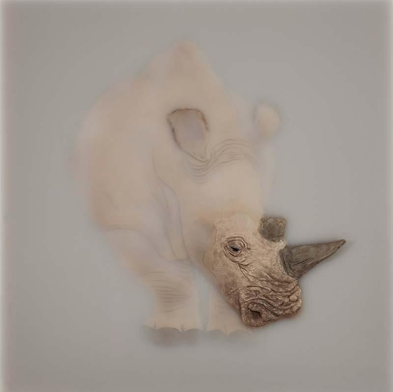 Cai Lei Rhino Artwork